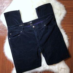 A.N.A Dark Navy Velvet Corduroy Skinny Jeans